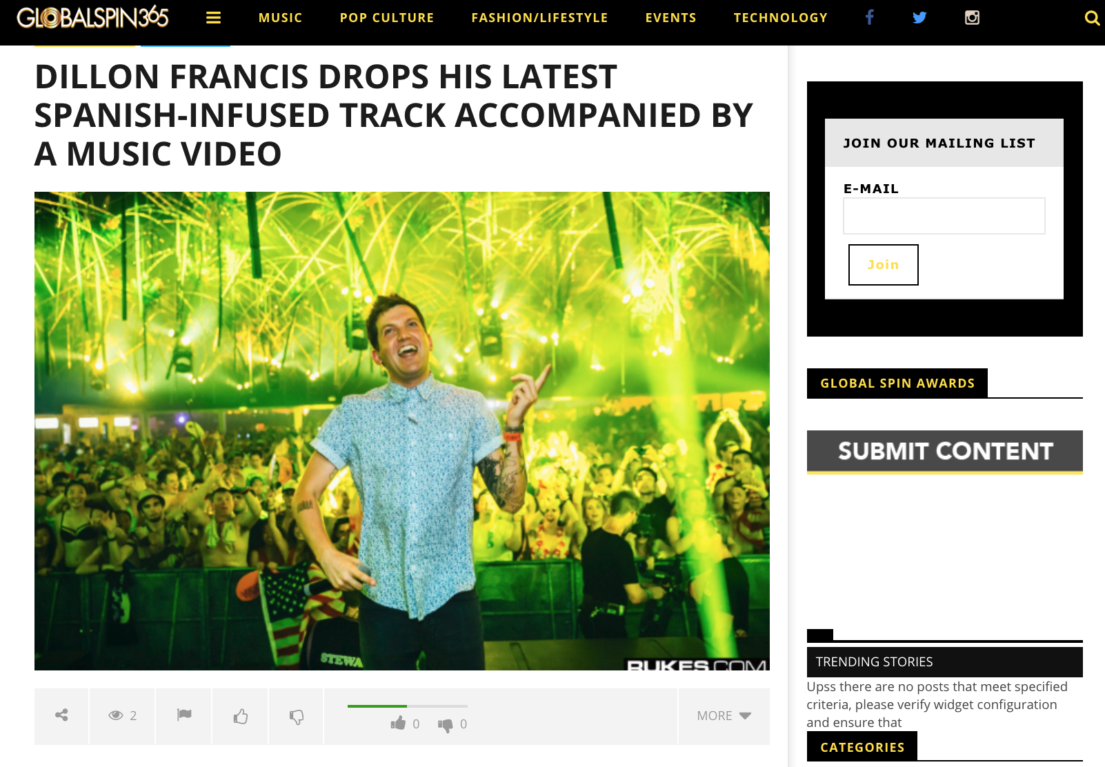 DILLON FRANCIS DROPS HIS LATEST SPANISH-INFUSED TRACK ACCOMPANIED BY A MUSIC VIDEO